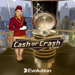 Evolution antoi maistiaisia show-henkisestä live-pelistä nimeltään Cash or Crash