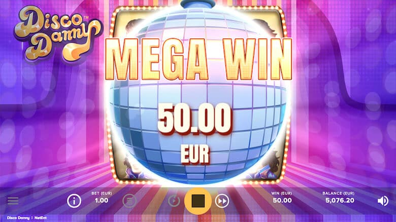 disco danny slot bonus