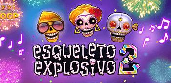 Esqueleto Explosivo 2 spillfunksjoner