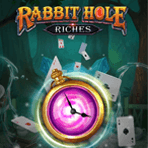 Play'n GO Release Rabbit Hole Riches Based on Alice's Adventures in Wonderland